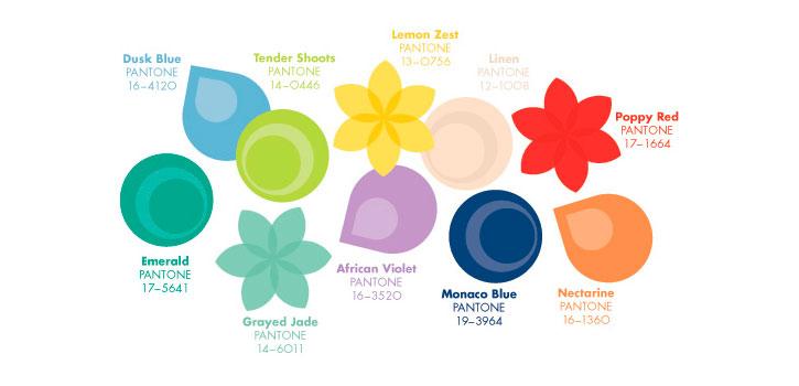 Top ten\' de los colores Pantone para primavera verano 2013