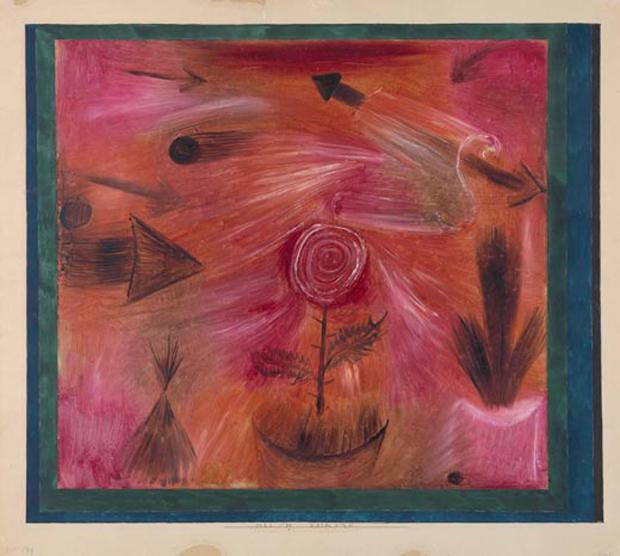 Paul Klee, Rosenwind