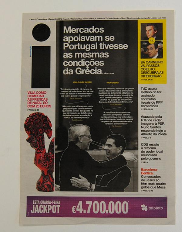 Premios ÑH, i, la mejor portada del año en la categoría diarios