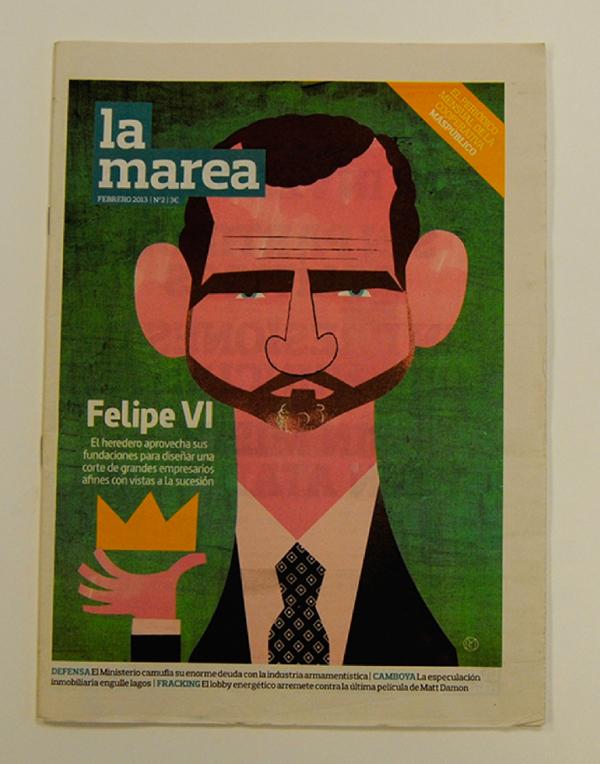Premios ÑH 2013, La Marea finalista mejor revista