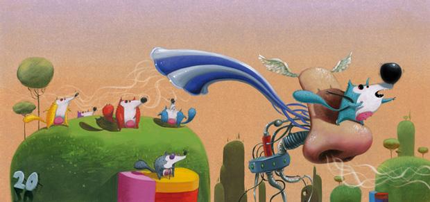 Roger Olmos, ilustración