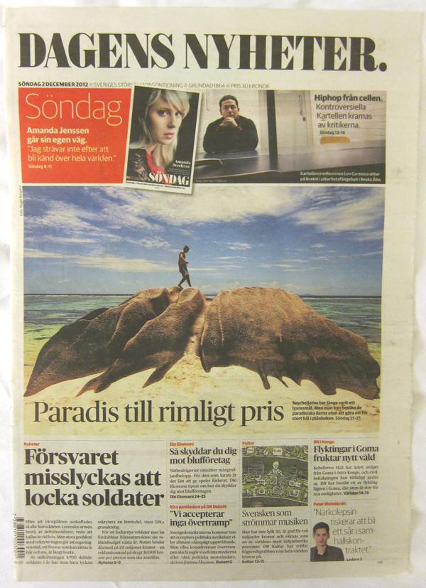 SND 01 Los 5 periódicos mejor diseñados del mundo en 2012 según SND