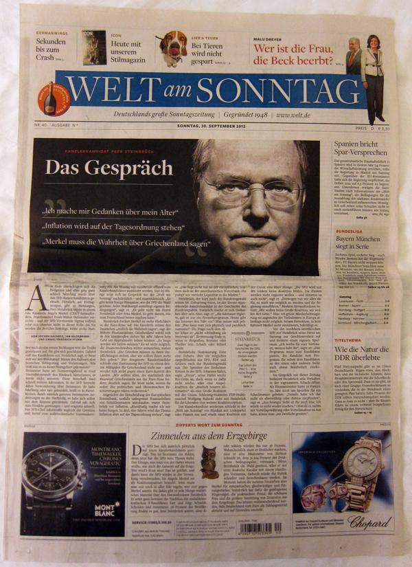 SND 05 Los 5 periódicos mejor diseñados del mundo en 2012 según SND