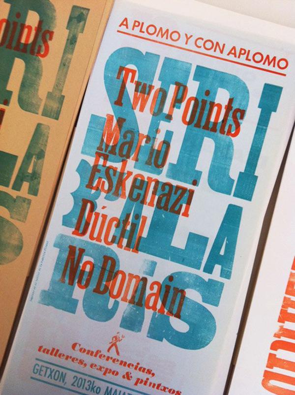 Serifalaris, cartel de 2013 realizado por Familia Plómez