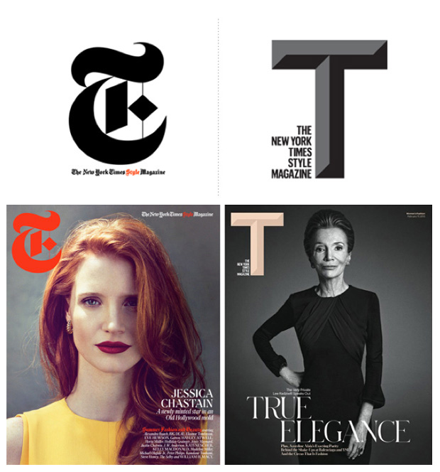 Nuevo logo: T: The New York Times Style Magazine