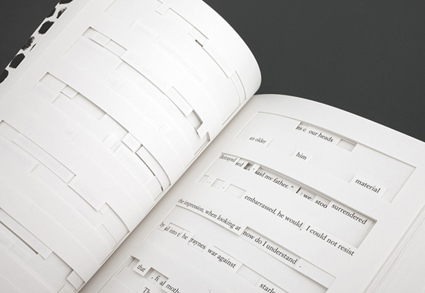 Tree of Codes, Sara de Bondt Studio