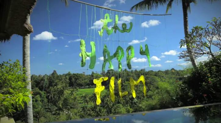TheHappyFilmSagmeister The Happy Show, por Sagmeister