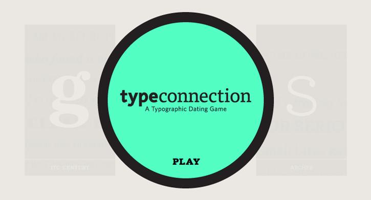 Type Connection, cada letra con su pareja