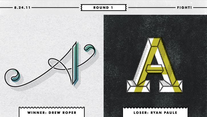 Type Fight, una batalla tipográfica que hay que pelear letra a letra