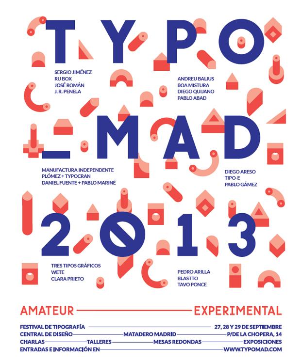 Typo_mad, cartel 2013