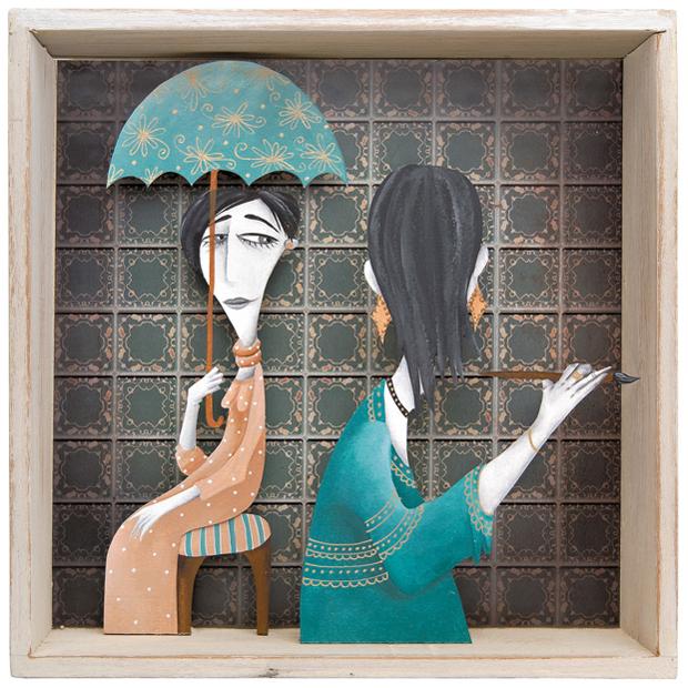 Cuento ilustrado por Valeria Gallo: 'Esta familia que ves'