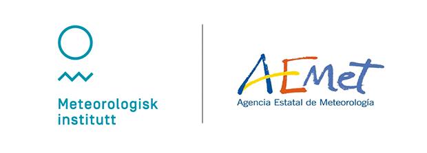 Logo de AEMET y Meteorologisk Institutt