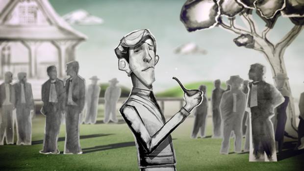 A liar's autobiography, animación sobre Graham Chapman de los Monty Python