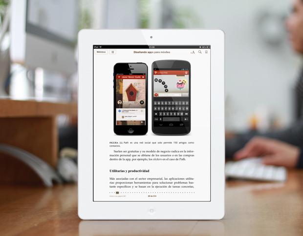 apps para móviles, ebook ipad