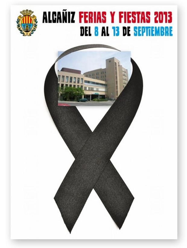 cartel fiestas alcaniz Alcañiz, un giro reivindicativo a los concursos de carteles
