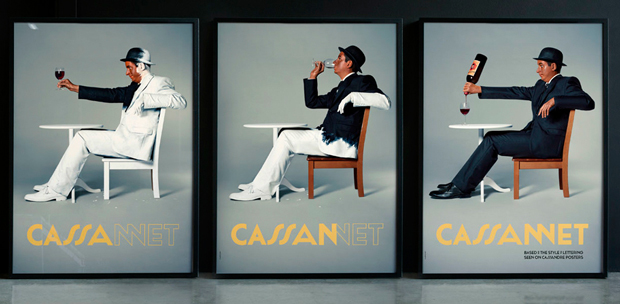 Cassanet, diseño de Atipo homenaje a Cassandre