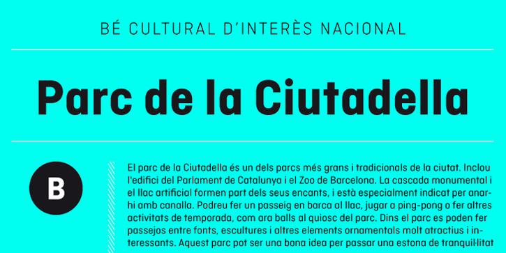 ciutadella 02 Ciutadella, nueva tipografía de Eduardo Manso