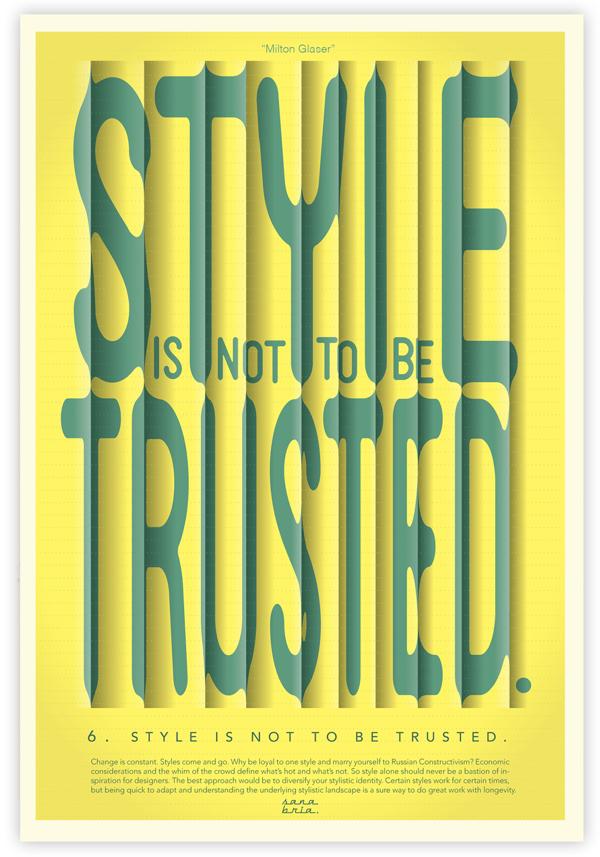 Consejo 6, Milton Glaser