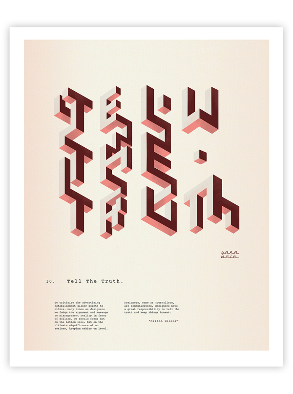 Consejo 10, Milton Glaser