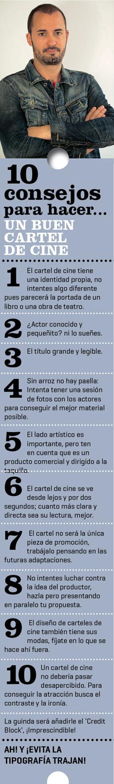 despiece sergio1 Sergio González [Barfutura]: «El cartel de una película es como el envoltorio de un caramelo»