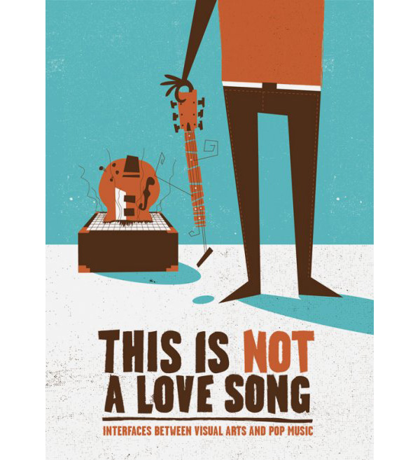 Error! Desing, cartel de la exposición This is not a Love Song