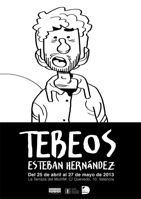 Esteban Hernández. Tebeo