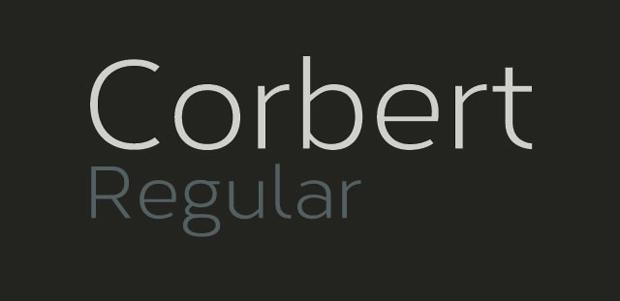 fuente gratuita Corbert 10 fuentes gratuitas para titulares