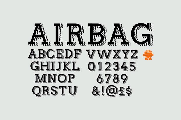 fuente gratuita airbag 10 fuentes gratuitas para titulares