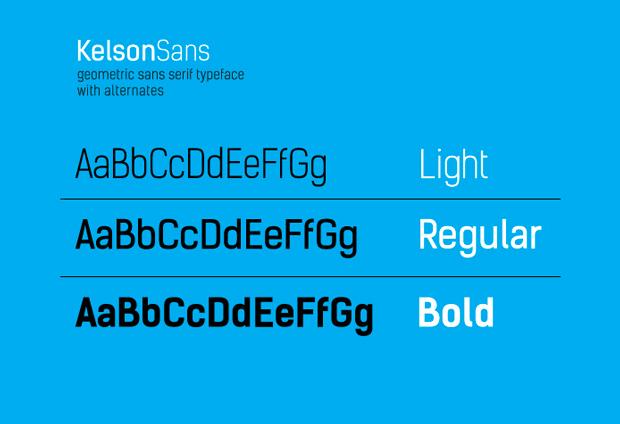 Kelson Sans, fuentes gratuitas