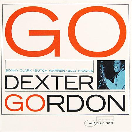 Dexter Gordon, portada del disco 'Go'