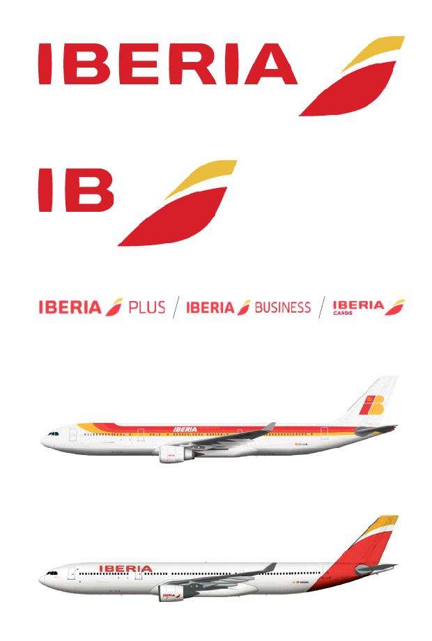 El nuevo logo de Iberia