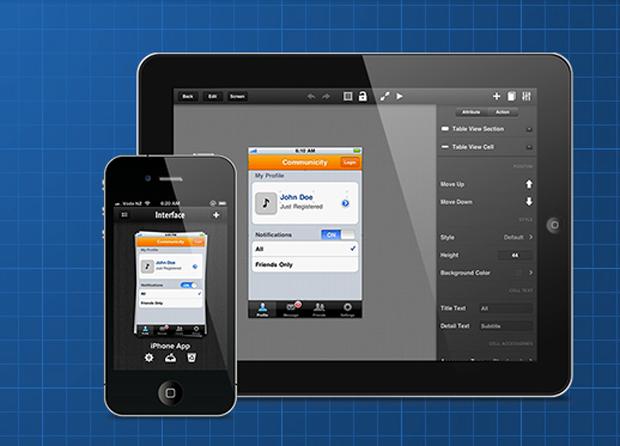 Interface 2, mockups avanzados para iPhone e iPad