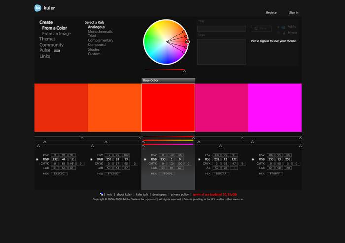 Kuler: No más problemas de color