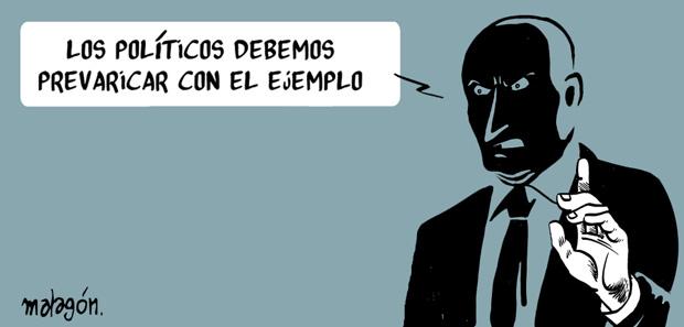 malagon 021 Viñetas ¡para cabrearse! de José Rubio Malagón