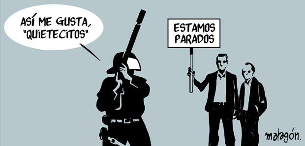 malagon 031 Viñetas ¡para cabrearse! de José Rubio Malagón