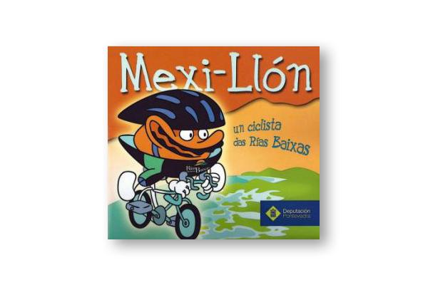 Mexi-llón en bici, la nueva mascota de la Vuelta Ciclista a España
