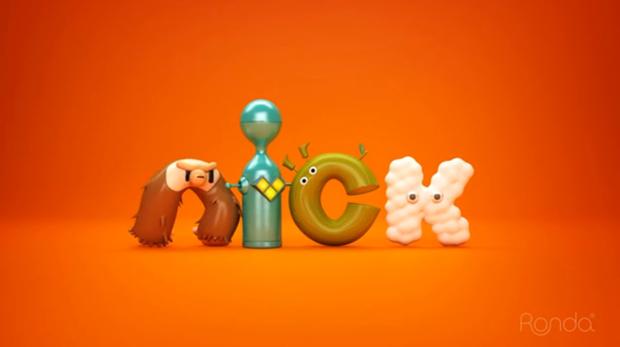 Animación para Nickelodeon de la agencia argentina Ronda