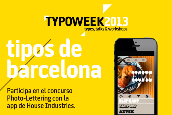 Concurso photo_lettering Typoweek