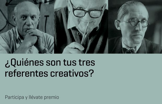Mis tres referentes creativos