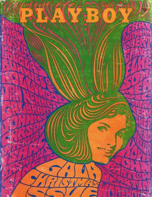 Portada de Playboy del año 1967 diseñada por Ricardo Rousselot