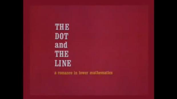 Ese extraño romance entre un punto y una línea