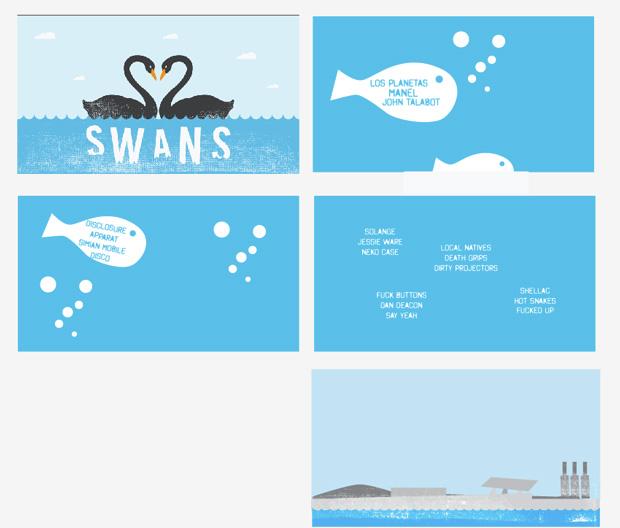 Primavera Sound 2013: script animación Line-Up
