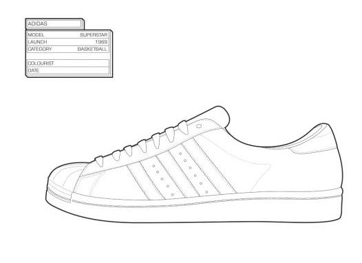 Para Tus Book'Zapatillas Colorear The Coloring Sneaker Retro Recuerdos QBtshrCdxo