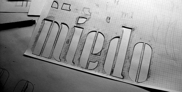 Stencil Letters, taller con Laura Meseguer en Koniec – Valencia