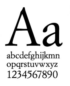 tipografía alianza