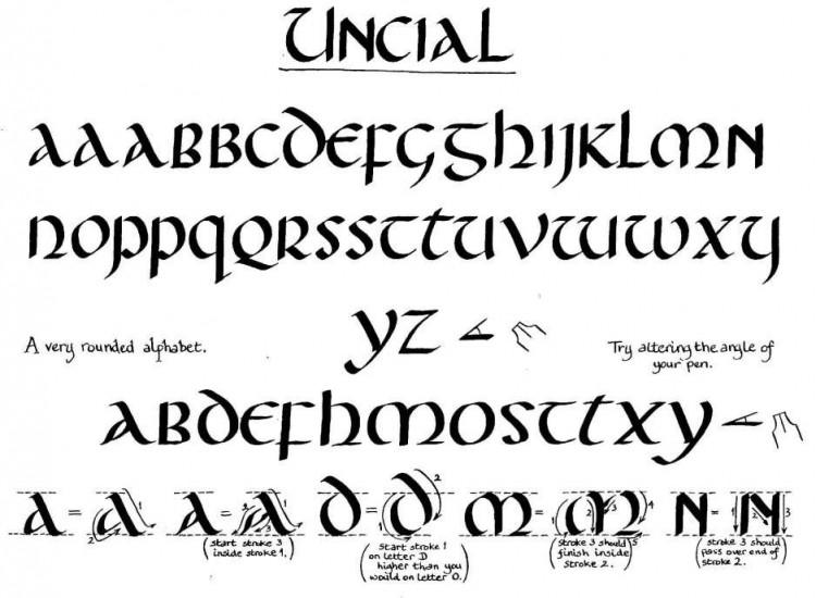 uncial