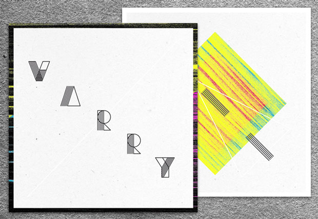 Varry, una tipografía de inspiración geométrica