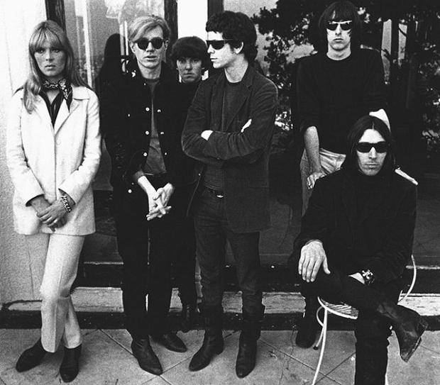 Andy Warhol y Velvet Underground en 1967